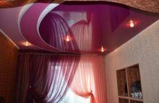 Преимущества декорирования помещений натяжными потолками
